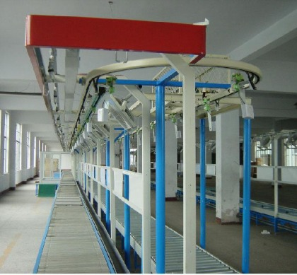 组装行业悬挂输送线