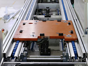 倍速链线导轨和台板