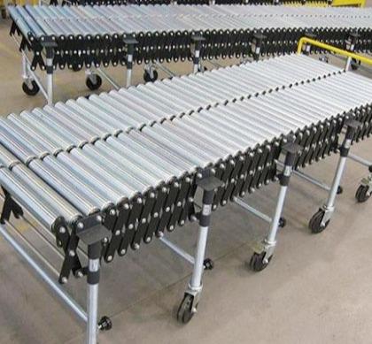 伸缩铝型材滚筒线