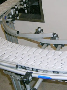 柔性链板输送线