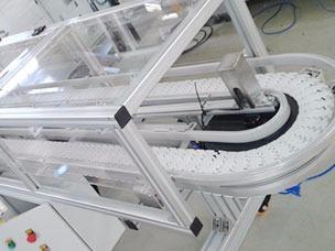 龙骨板链输送机主体结构