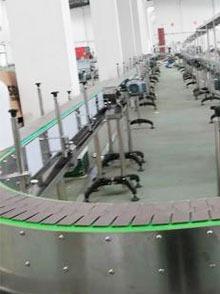 塑料链板线输送系统