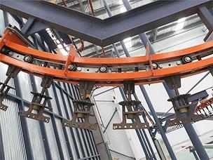 悬挂链输送链条结构