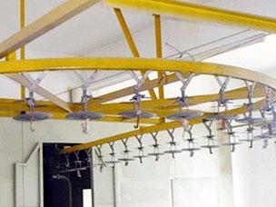 跨层悬挂链输送链条系统