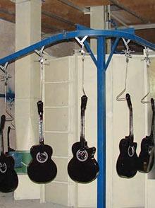 吉他悬挂输送线
