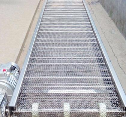钢网式平板输送机