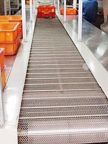不锈钢钢网式平板输送线