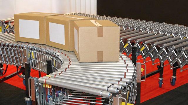 物流滚筒装配线承重要求再高光良也能满足