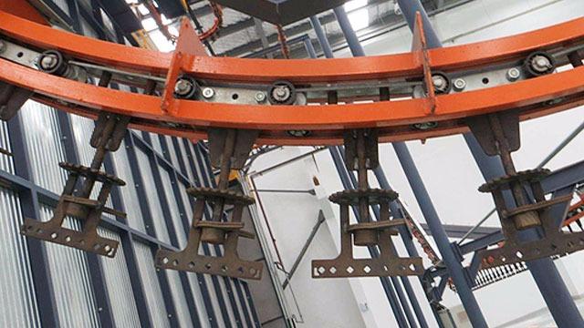 光良悬挂输送线不加碳酸钙使用寿命更长