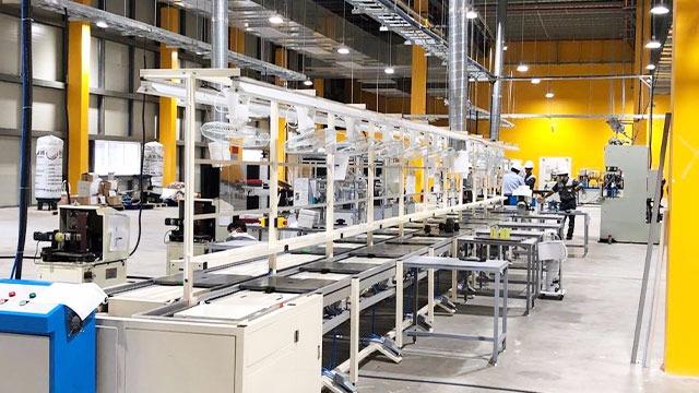 倍速链生产线工位如何停下来