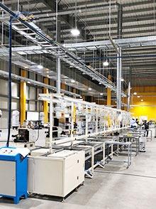 越南VinFast公司定制倍速链装配线