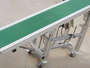 移动式皮带输送机系统