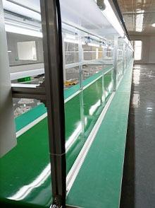双边电子厂装配流水线