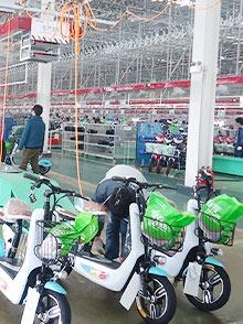 电动车摩托车装配线