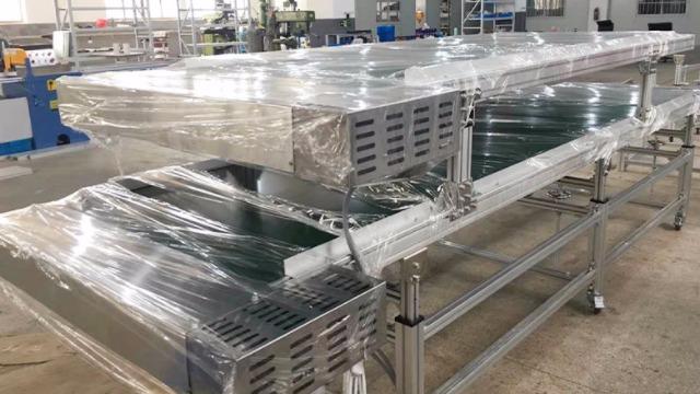 不锈钢支架双层皮带线海天注塑机专属定制