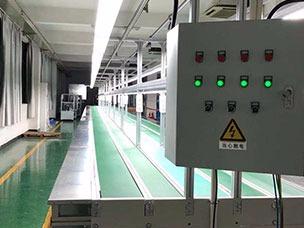 电子厂耳机组装流水线电机