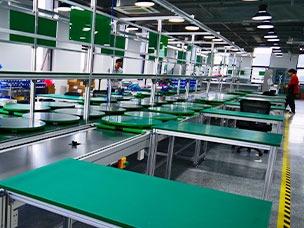 电子产品组装生产线结构