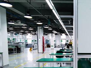 电子产品组装生产线车间