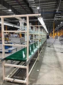 电机配件组装生产线