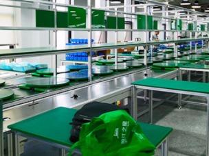 电器生产装配线工作台