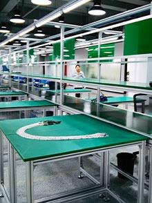 电器生产皮带装配线