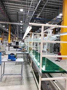 出口越南电器生产装配线
