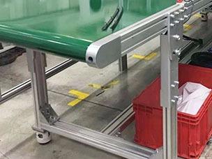 环形装配线铝型材支架
