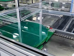 非标装配线体搭配工装板