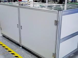 定制电机装配线机柜