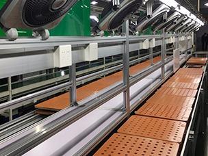 倍速链生产线工装板