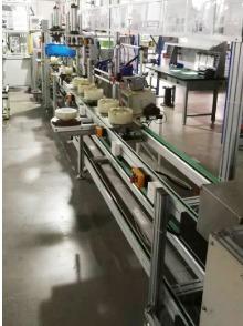 电机组装倍速链生产线