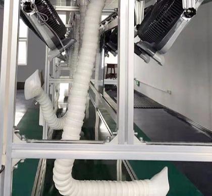 光良定制双边工作台装配流水线