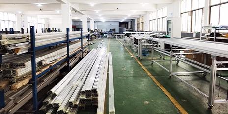 双边工作台装配流水线制作原材料