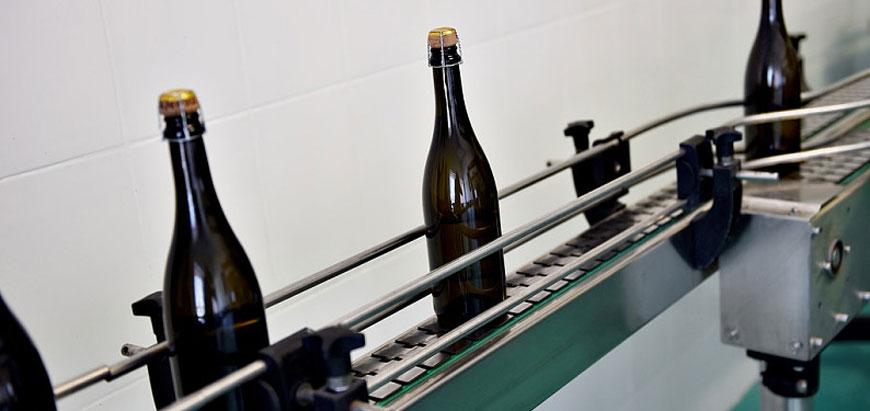 香槟流水线生产