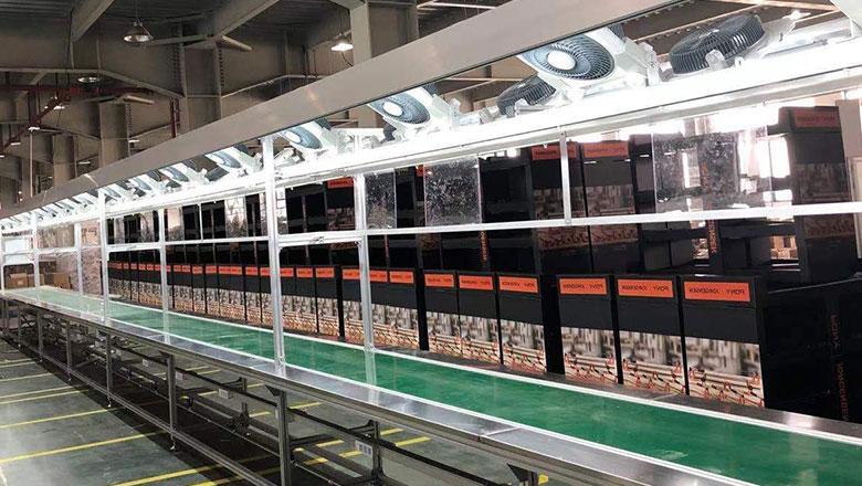 不同输送线在食品生产中怎么运用的