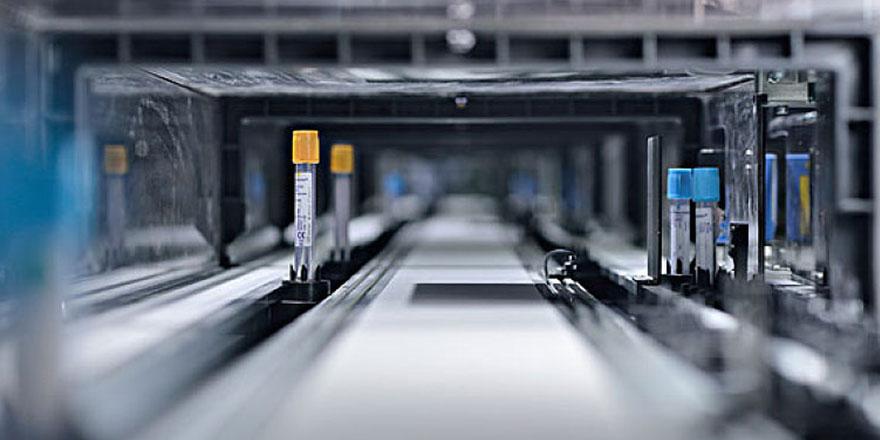 自动化流水线试管输送带