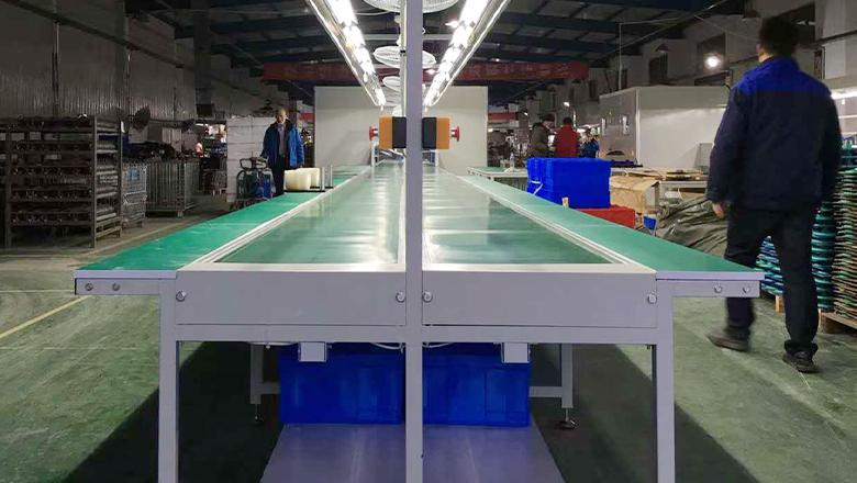 常州光良装配线组成结构和工艺流程