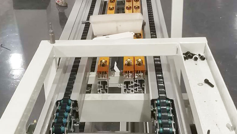 倍速链自动化生产线