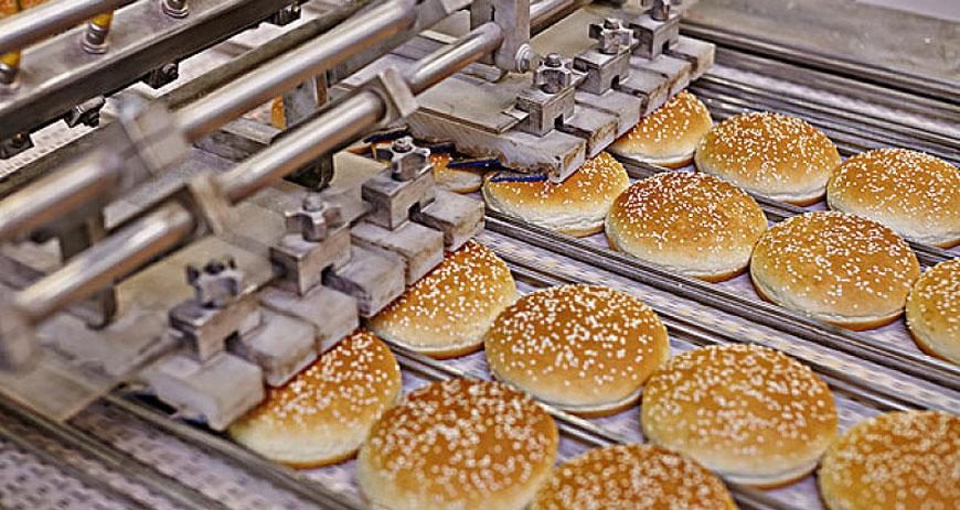 面包厂板链线