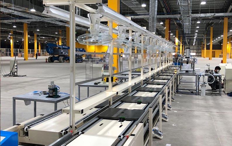 提升流水线工作效率的因素:设备