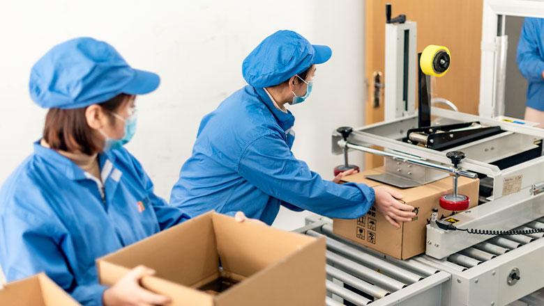 常州光良定制包装生产线