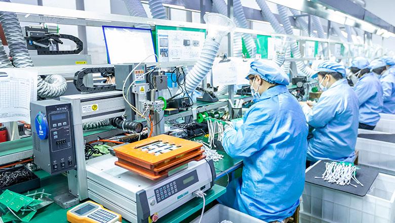 生产线机械加工