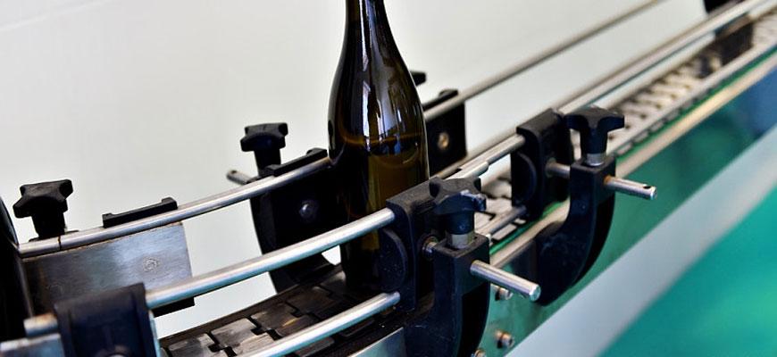 香槟流水生产线
