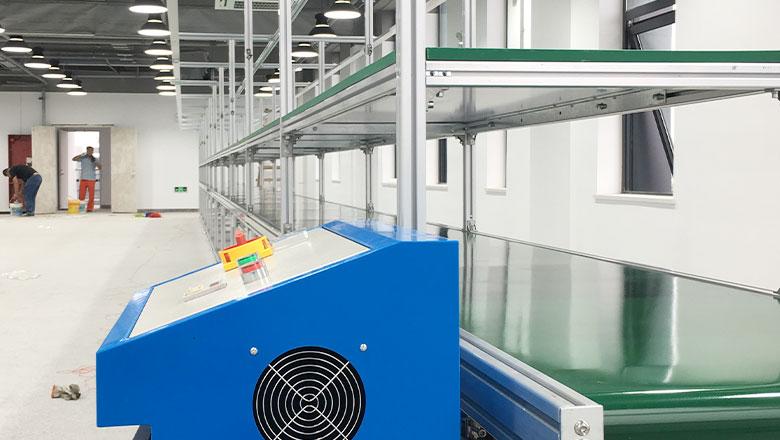 装配流水线怎样配合工业增长
