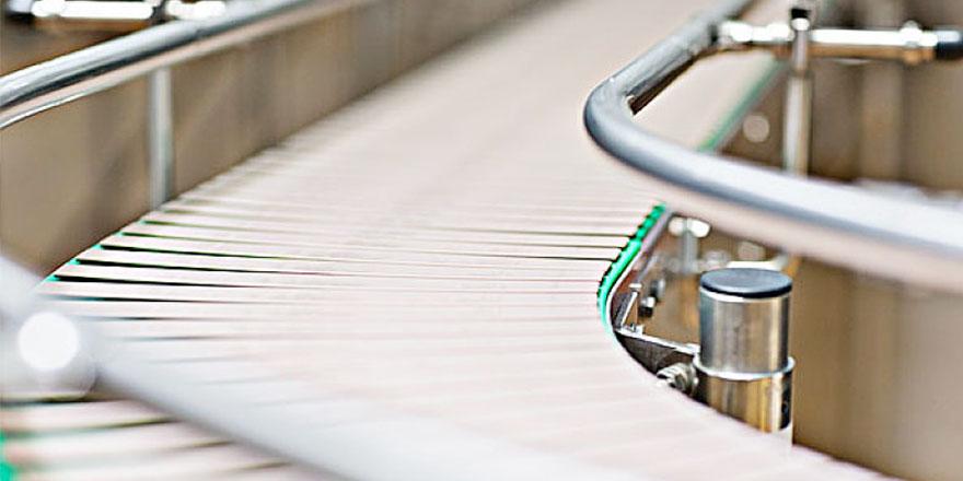转弯板链线